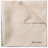 Paul Smith - Floral-print Silk-twill Pocket Square