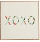 DENY Designs 'Allyson Johnson - Floral XO' Wall Art
