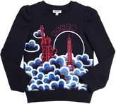 Kenzo Paris Printed Cotton Sweatshirt