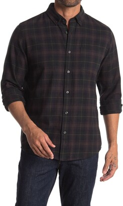 Slate & Stone Plaid Regular Fit Flannel Shirt