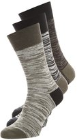 Brooklyn's Own By Rocawear 3 Pack Socks Dark Grey/light Grey/black