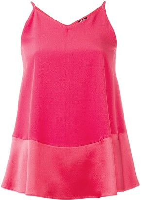 Jil Sander Navy Flared Cami Top