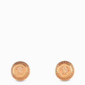 Versace Tribute button earrings