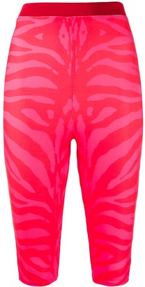Animal Print Legging Shorts