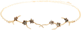 Annette Ferdinandsen Blossom Branch Choker with Black Mother of Pearl Blossoms
