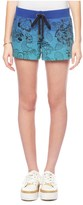 Juicy Couture Amazon Floral Emb Ombre Short
