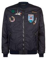 Dolce & Gabbana Vintage Patch Bomber Jacket