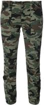 Nili Lotan Cropped Military Cargo Pants