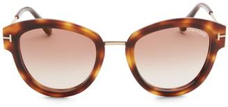 Tom Ford Mia Tortoiseshell Sunglasses