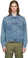 Levi's Clothing Blue Denim Type 2 Trucker Jacket