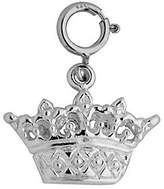 Dazzlers Sterling Crown Charm