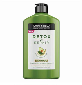 John Frieda Detox and Repair Shampoo For Dry Stressed & Damaged Hair 250ml