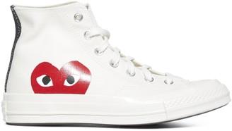 Comme des Garcons x Converse All Star Hi-Top Sneakers