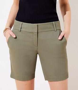 LOFT Curvy Riviera Shorts with 8 Inch Inseam