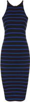 LnA Elise S/L High Nk Stripe Drs