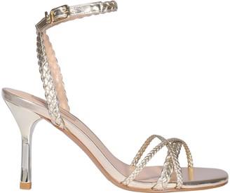 Liu Jo Braided Ankle Strap Sandals