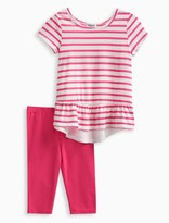 Splendid Little Girl Stripe Top with Solid Legging