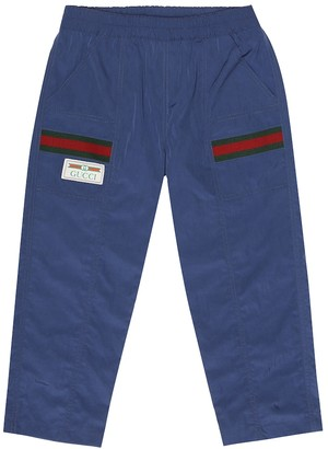 Gucci Kids Webbed trackpants