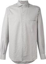 Loro Piana checked shirt
