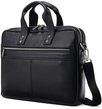 Samsonite Slim Classic Leather Business Briefcase