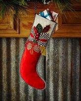 Mackenzie Childs MacKenzie-Childs Tartan Frost Stocking