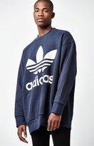 adidas Navy Crew Neck Sweatshirt