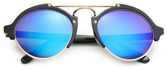 Illesteva Milan II 54MM Round Sunglasses