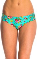 Betsey Johnson Swimwear Flower Bomb Cheeky Hipster Bikini Bottom 8140770