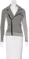Rag & Bone Asymmetrical Tweed Jacket