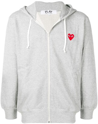 Comme des Garcons zipped hooded jacket