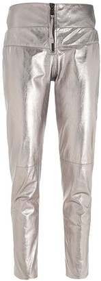 Andrea Bogosian Skinny Leather Trousers