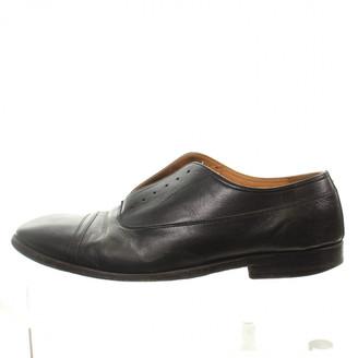 Maison Margiela Black Leather Lace ups
