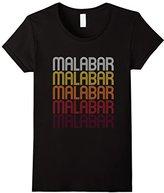 Women's Malabar, FL Vintage Style Florida T-shirt Medium
