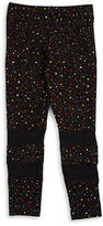 Flowers by Zoe Girls 7-16 Speckle Mesh Leggings