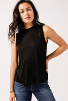 Alexander Wang High Neck Flared Tank