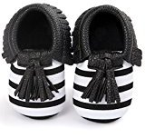 Binmer(TM) Baby Crib Tassels Bowknot Shoes Toddler Sneakers Casual Shoes (0~6M)