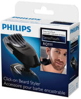 Philips NEW RQ111 Sensotouch Styler Attachment Black