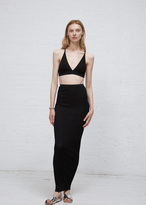 Dusan Black Knit Skirt