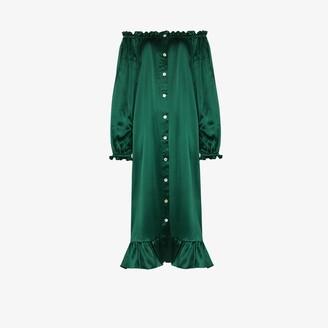 Sleeper Silk Satin Loungewear Dress