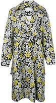 Christian Wijnants floral print coat