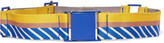 Missoni Striped stretch-canvas belt