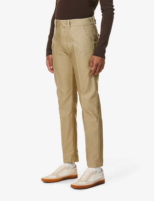 Tom Ford Straight-leg cotton chinos