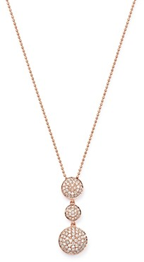 Bloomingdale's Pave Diamond Pendant Necklace in 14K Rose Gold, 0.55 ct. t.w. - 100% Exclusive