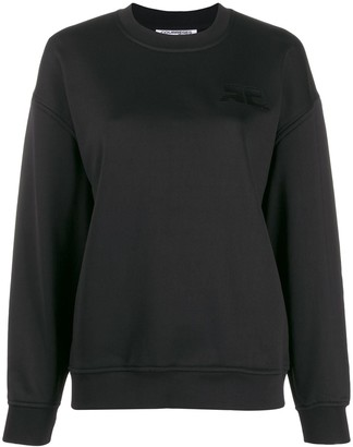 Courreges Embroidered Logo Sweatshirt