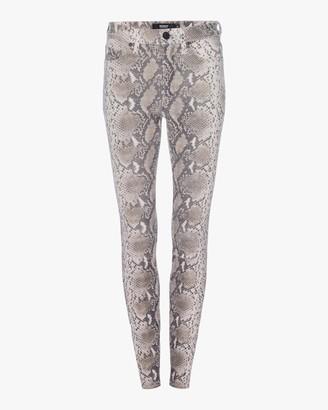 Hudson Barbara High-Waist Super Skinny Leather Pants