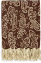 A & R Cashmere Cashmere Blend Paisley Throw