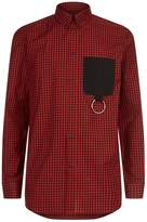 Givenchy Metal Ring Check Shirt