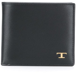 Tod's Logo Plaque Billfold Wallet