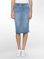 Calvin Klein Denim Essential Pencil Skirt