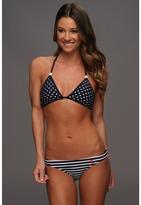 U.S. Polo Assn. Stars and Stripe Print Bikini with Embroidered Logo